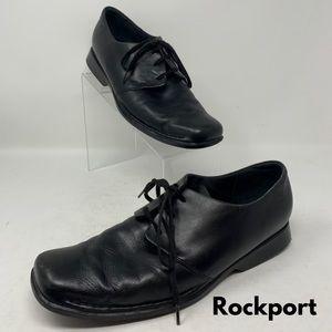 Rockport Men's Black Leather Dress Shoes